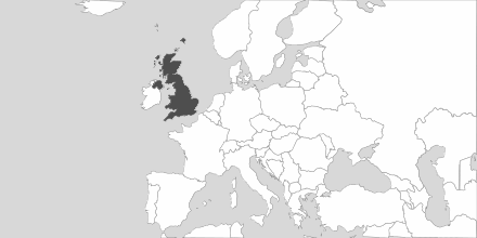 Map of Area United Kingdom