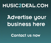 Music2deal advertise invitation logo